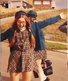 My sister Robyn in her carefree teens