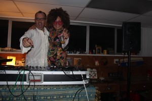 fave dj Peter Urlich and moi