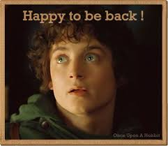 Frodo returns with one hell of a story to tell
