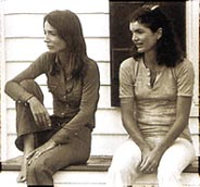 with sister Jackie O